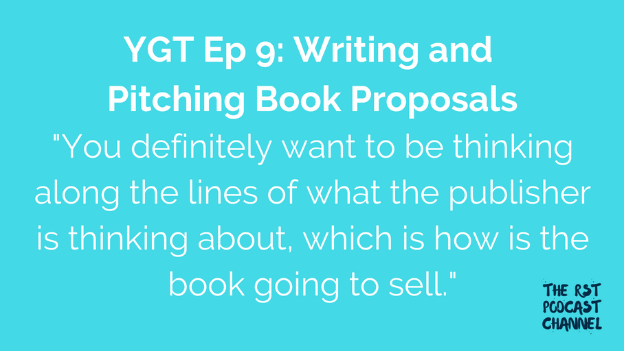 YGT 9: Writing and Pitching Book Proposals