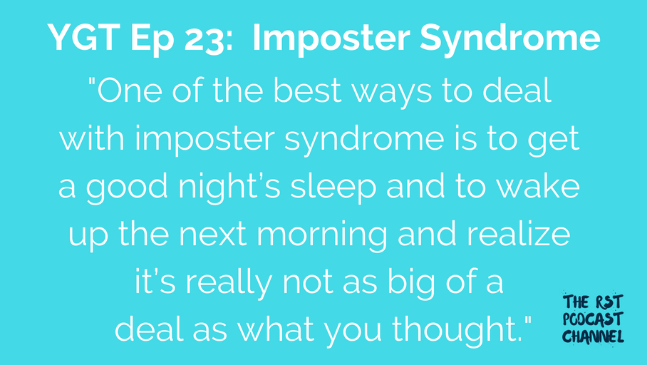YGT 23: Imposter Syndrome