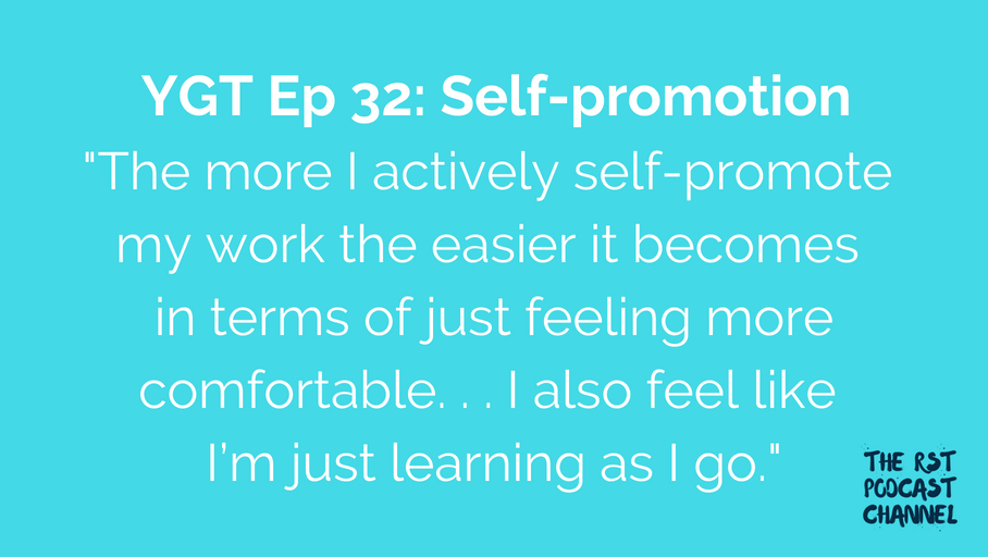 YGT 32: Self-promotion