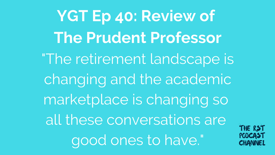 YGT 40: Book Review of The Prudent Professor