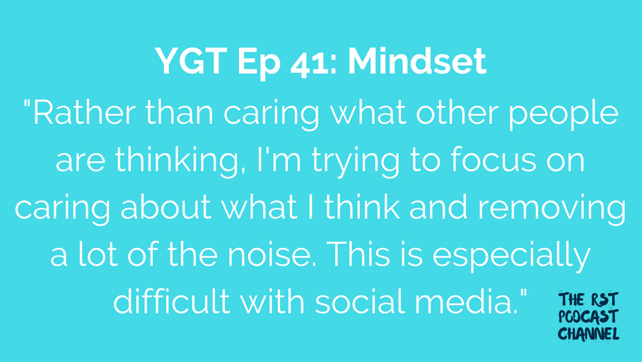 YGT 41: Mindset