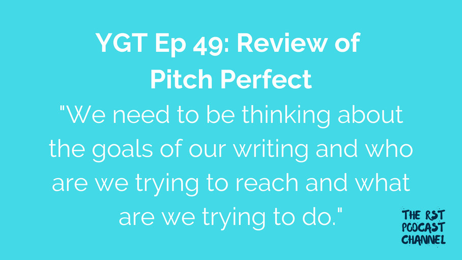 YGT 49: Book Review of Pitch Perfect