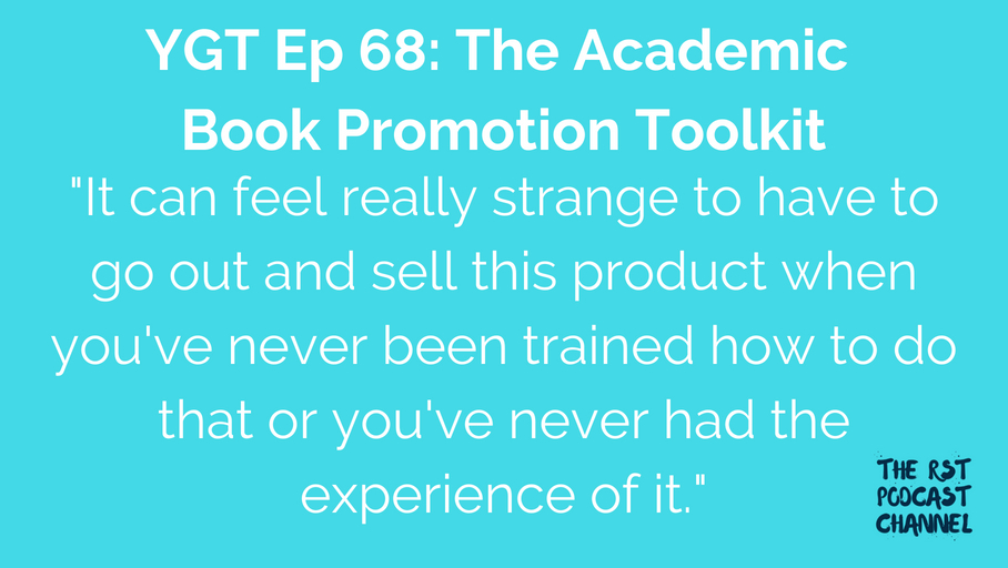 YGT 68: The Academic Book Promotion Toolkit