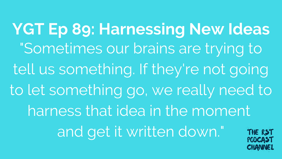 YGT 89: Harnessing New Ideas