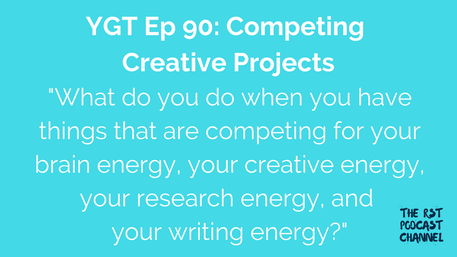 YGT 90: Competing Creative Projects