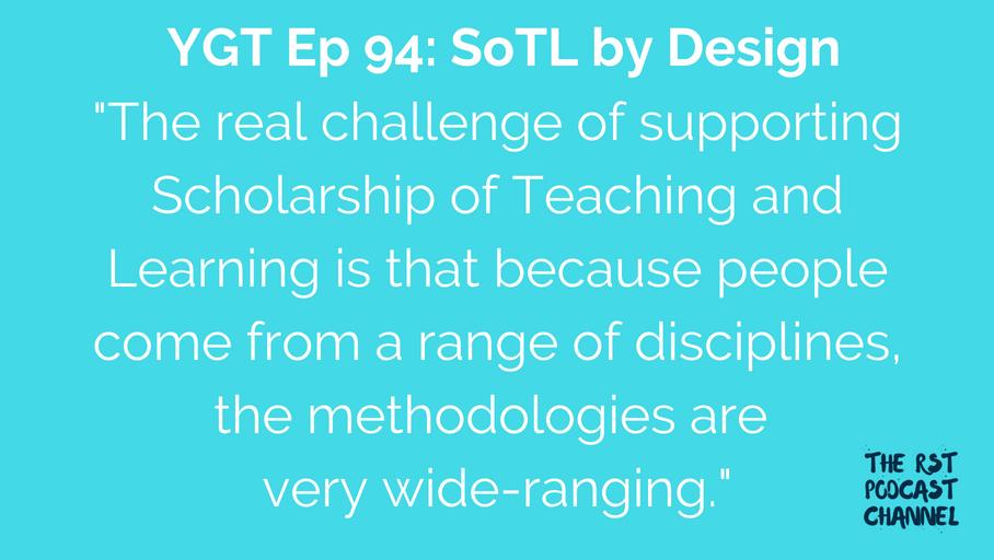 YGT 94: SoTL by Design