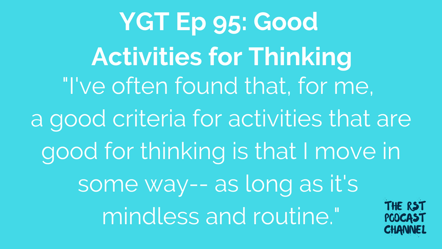 YGT 95: Good Activities for Thinking
