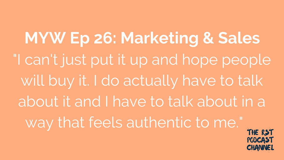 MYW 26: Marketing & Sales