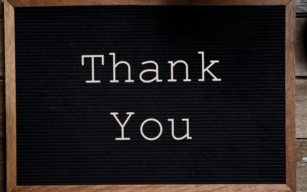 "The Power of ""Thank You"""