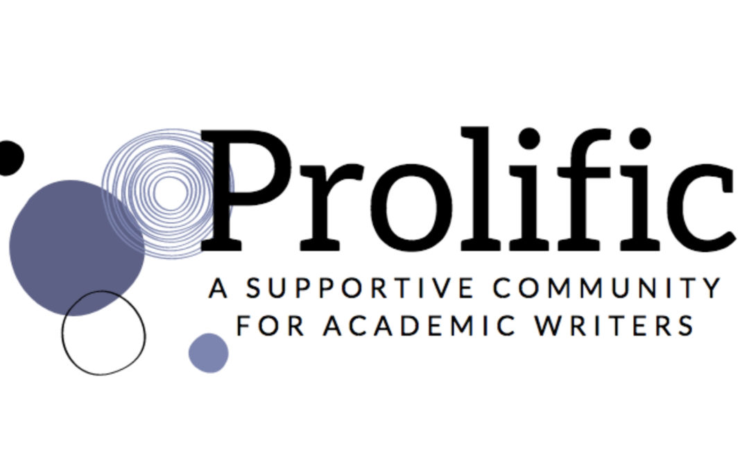 Prolific 2019 Event Calendar