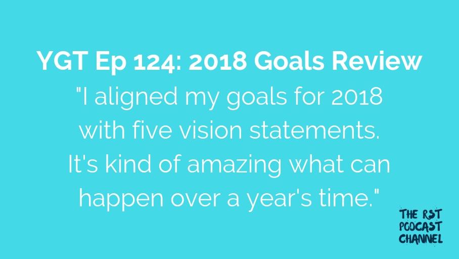 YGT 124: 2018 Goals Review