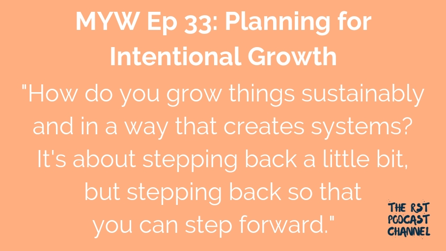 MYW 33: Planning for Intentional Growth