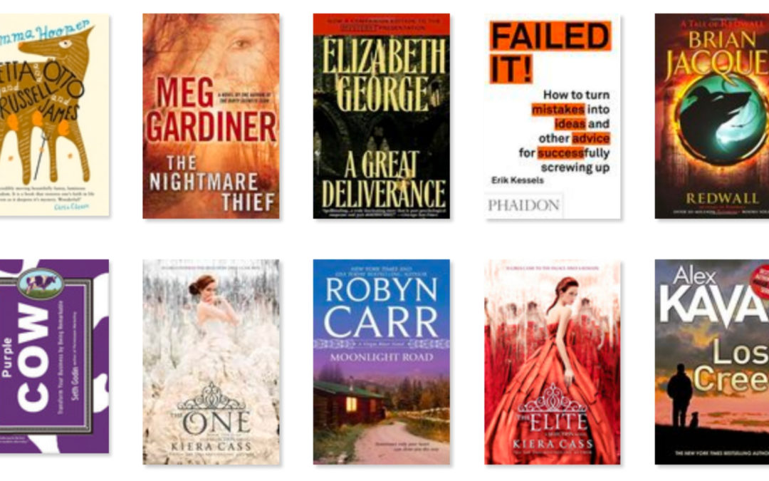 19 Books I've Read So Far This Year