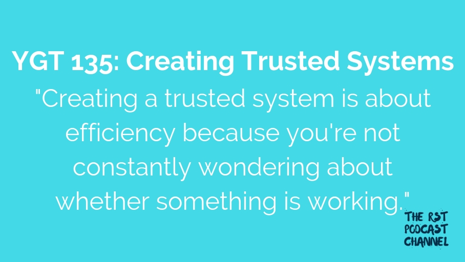 YGT 135: Creating Trusted Systems