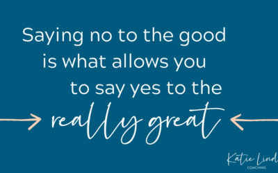 YGT 159: Deciding Between the Good and the Really Great