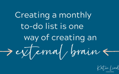 YGT 182: Creating a Monthly To-Do List