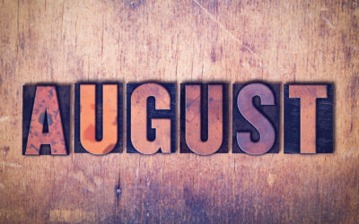 My August To-Do List