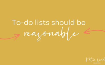 YGT 210: Creating a Reasonable To-Do List