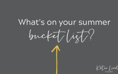 YGT 241: My Summer Bucket List