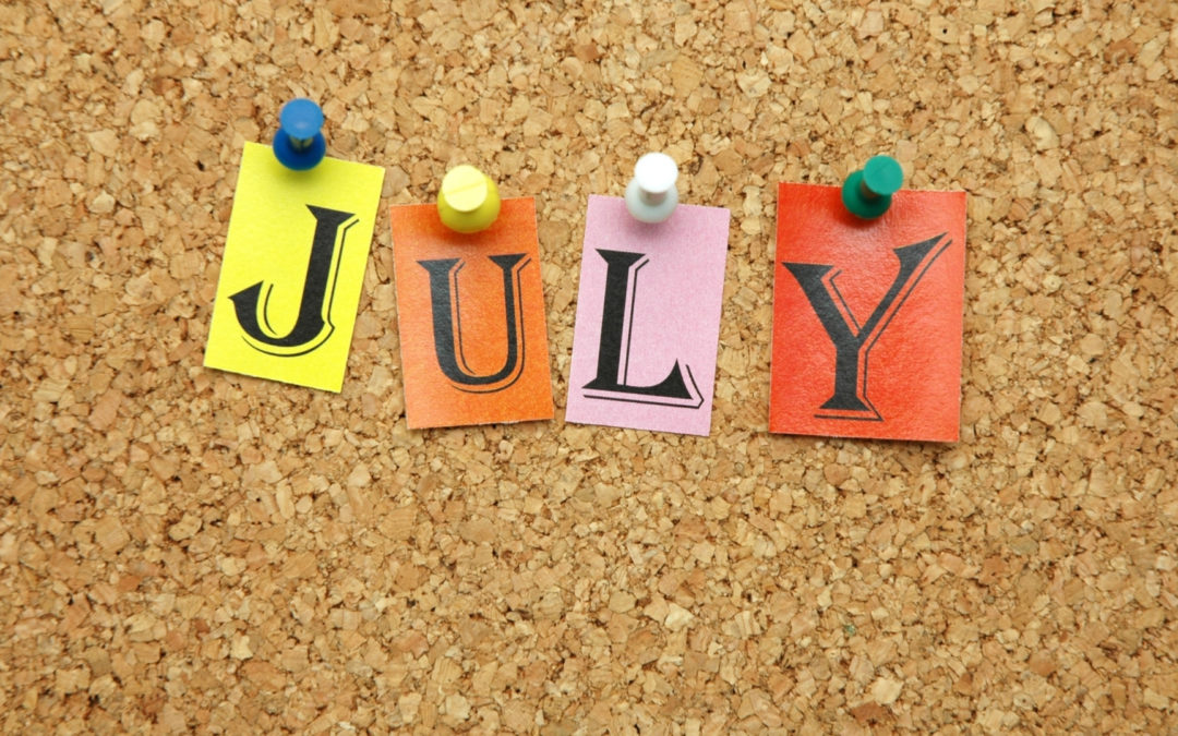 My July To-Do List